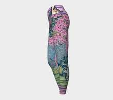 Load image into Gallery viewer, Cherry Blossoms Yoga Leggings