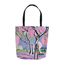 Load image into Gallery viewer, Cherry Blossoms Tote Bags
