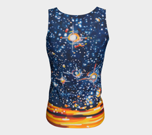 Load image into Gallery viewer, Reach for the Stars Tank Top: Long Fit