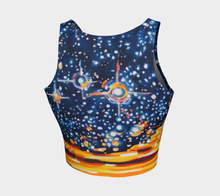 Load image into Gallery viewer, Reach for the Stars Crop Top