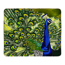 Load image into Gallery viewer, Peacock Fleece Sherpa Blanket