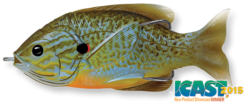 LIVETARGET Sunfish Hollow Body Swimbait