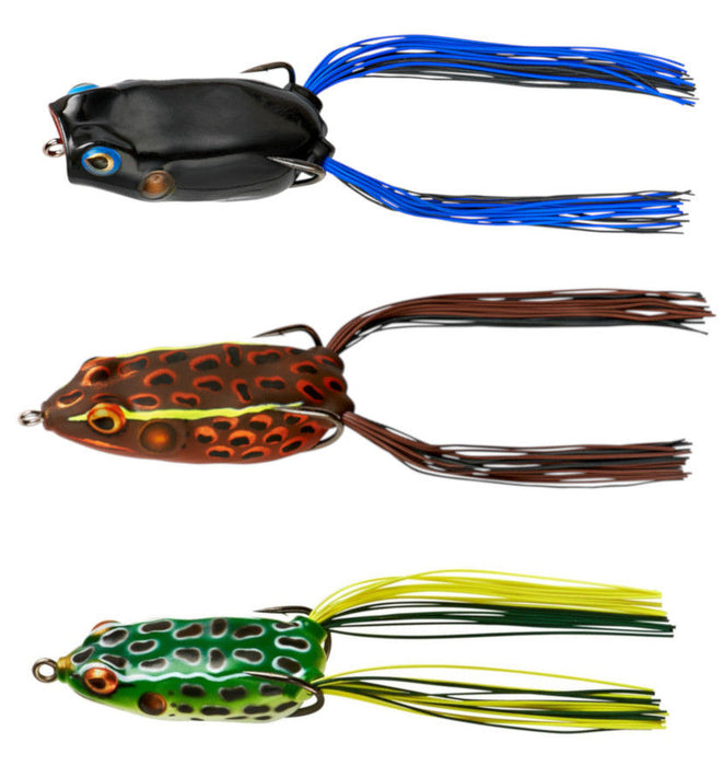 Booyah Hollow Body Frog Combo 3 Pack