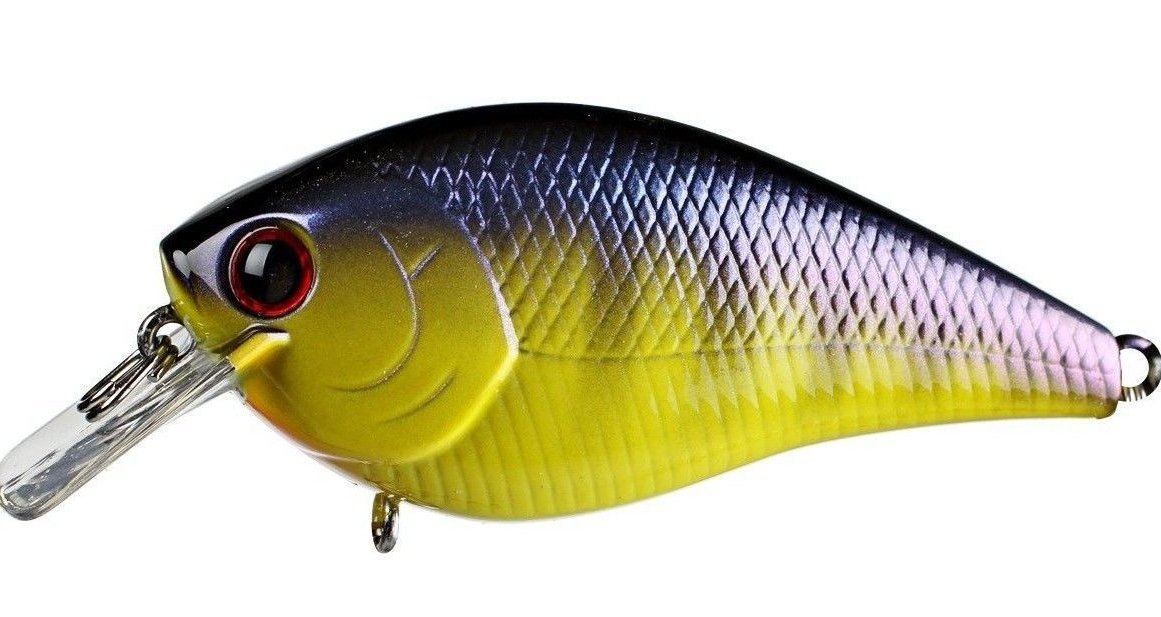 Lucky Craft LC 1.5 Deep Rattle Sound (DRS) Shallow Squarebill Crankbait