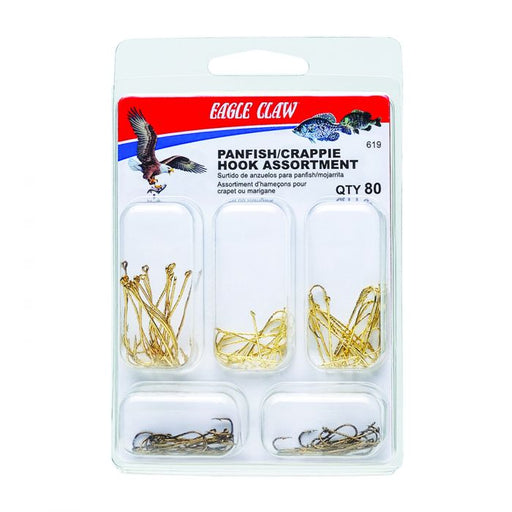 Eagle Claw 619 Panfish/Crappie Assorted Hook Kit