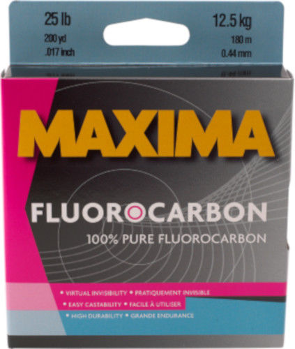 Maxima Fluorocarbon One Shot Spool 200 Yards