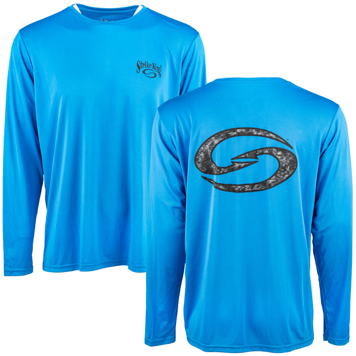 Strike King S Logo Moisture Management Long Sleeve Shirt