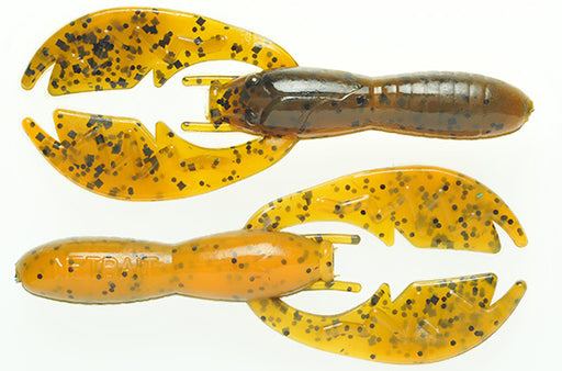 NetBait Baby Paca Craw 3 3/4 inch Floating Soft Plastic Craw 9 pack