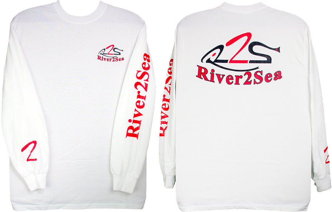 River2Sea Long Sleeve Logo T-Shirt