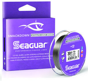Seaguar Smackdown Braid 150 Yards Stealth Gray
