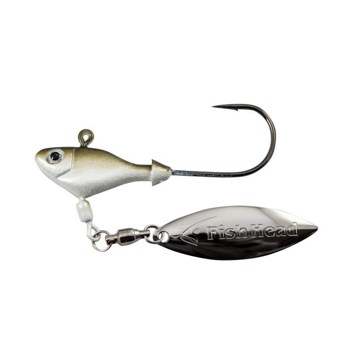 Fish Head Spin Original Underspin 1//4oz Citrus Shad