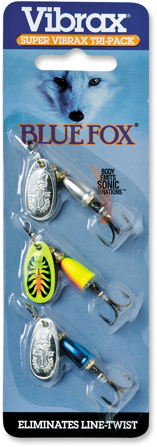Blue Fox Super Vibrax Tri-Pack