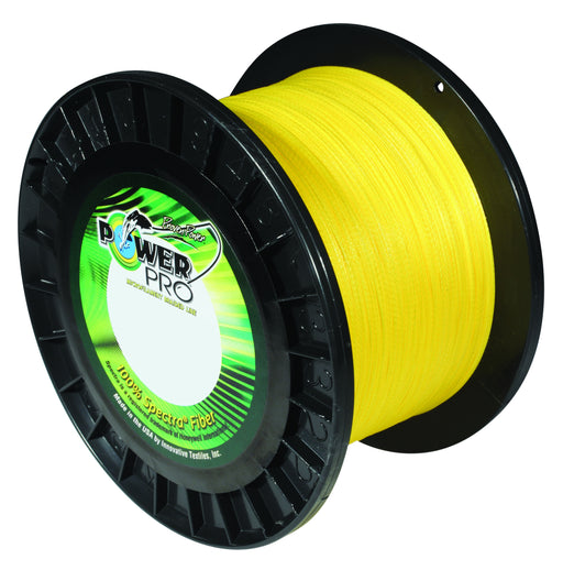 Power Pro Spectra Hi-Vis Yellow Braided Line