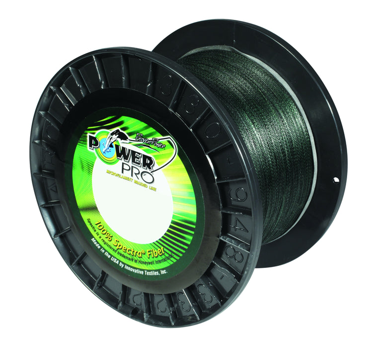 Power Pro Spectra Moss Green Braided Line