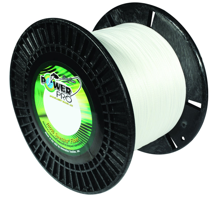 Power Pro Spectra White Braided Line