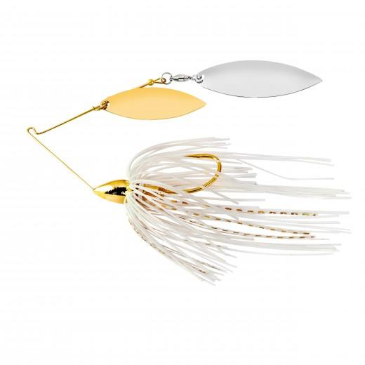 War Eagle Double Willow Gold Frame Spinnerbait