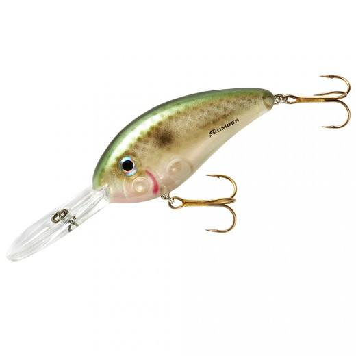 Bomber Fat Free Shad 3 inch Extra Deep Diving Crankbait Bass /& Walleye Hard Lure