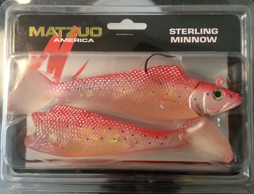 Matzuo Sterling Minnow 6 inch Soft Body Swimbait