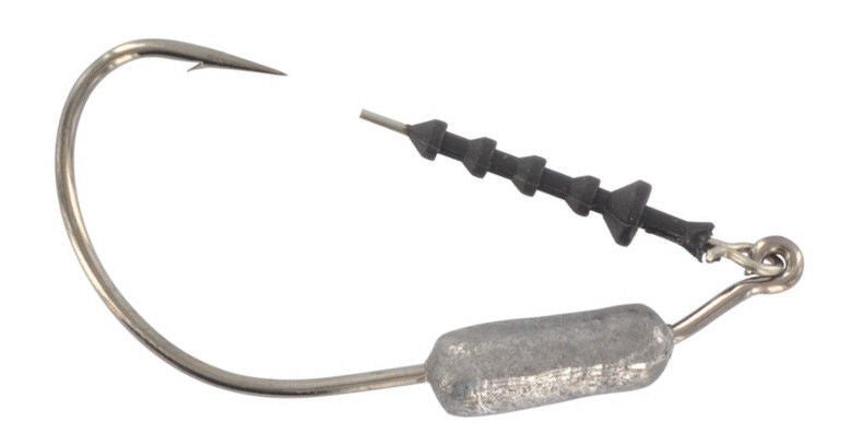 Mustad Ultra Point Power Lock Plus 3/8 Oz. Weighted 8/0 Hook 3 Pack