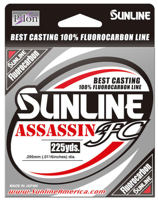 Sunline Assassin Fc Fluorocarbon 225 Yards