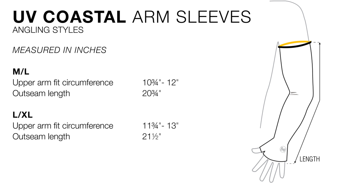 BUFF UV Coastal Arm Sleeves