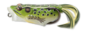 LIVETARGET Popper Frog Hollow Body Topwater Frog