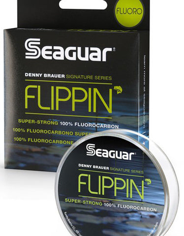 SEAGUAR FLIPPIN' FLUOROCARBON LINE 100 YARDS