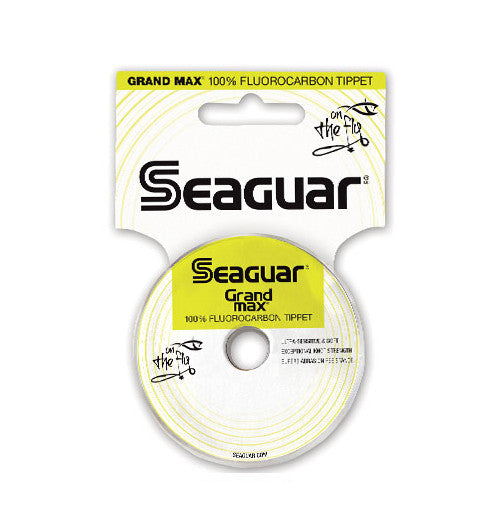 Seaguar Grand Max Fluorocarbon Tippet 30 Yards (25M)