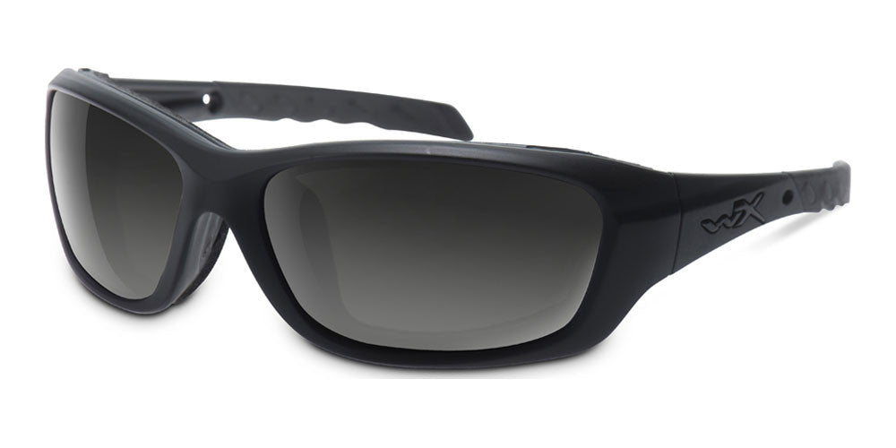 d0c196508f Home Wiley X Tide Climate Control Sunglasses. Tide Grey Lens Mat Black Frame