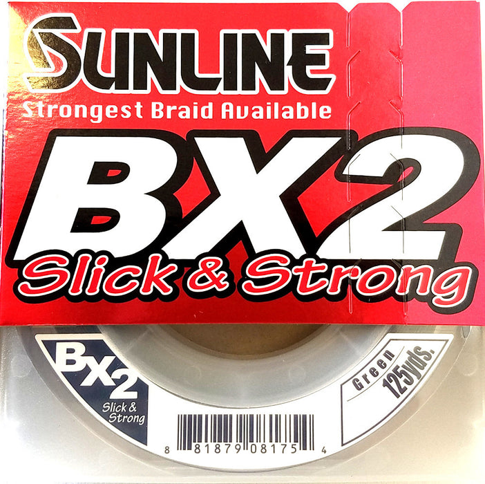 Sunline Bx2 Braided Line Dark Green 125Yd