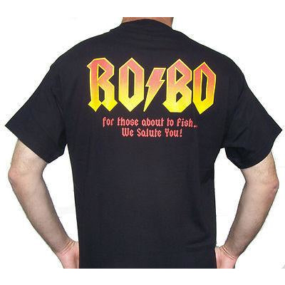 Roboworm Short Sleeve T-Shirt Ro/Bo Rock