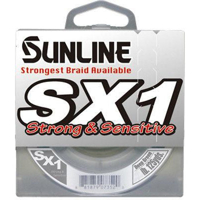 Sunline Sx1 Braid Green 125 Yards