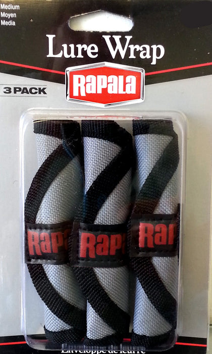 Rapala Lure Wrap 3 Pack