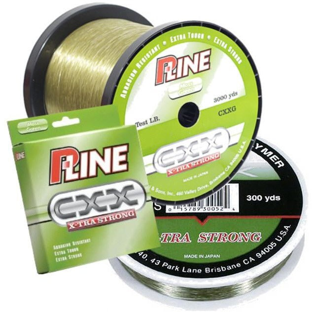 P-LINE CXX MOSS GREEN X-TRA STRONG FISHING LINE
