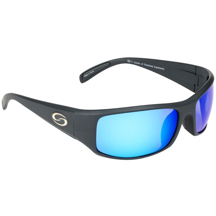 534-Black Frame Blue Lens