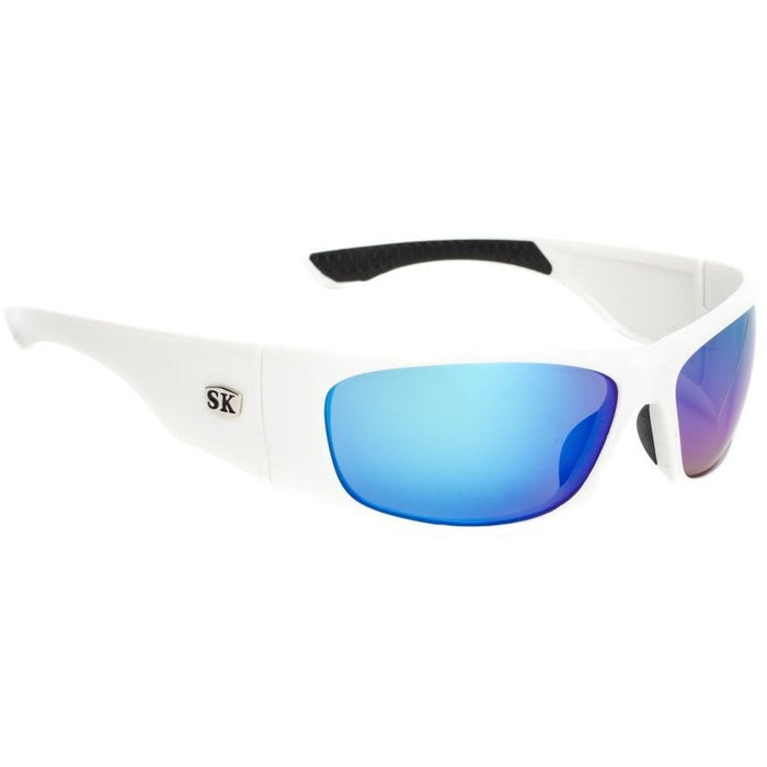 SG-SKP33 White/Black Frame Revo Blue Mirror Lens
