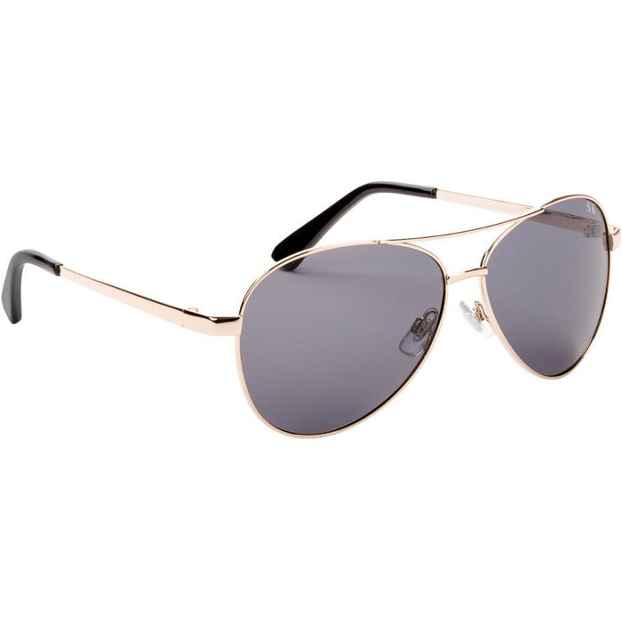 SG-SKP422-Shiny Gold Frame Gray Lens