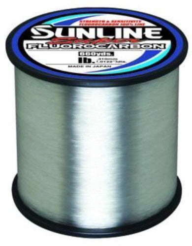 Sunline Super Fluorocarbon Clear 660 Yards