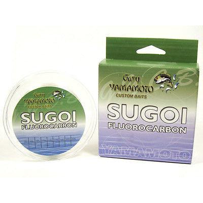 GARY YAMAMOTO SUGOI FLUOROCARBON FISHING LINE 131 YDS CLEAR