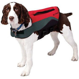 Onyx Neoprene Pet Flotation Vest Life Preserver Red