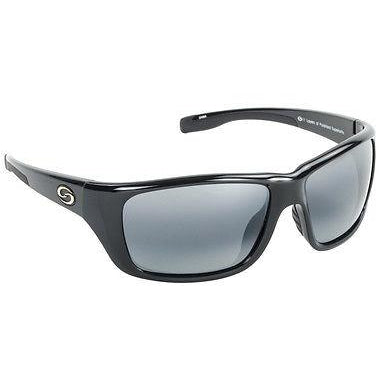 65-Black Rubber Frame Gray Lens
