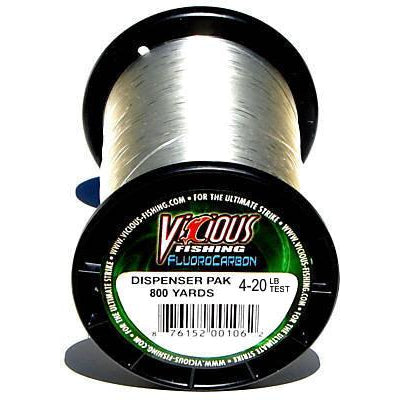 VICIOUS FLUOROCARBON FISHING LINE 800 YARDS
