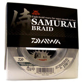 DAIWA SAMURAI BRAIDED FISHING LINE 150 YARDS GREEN