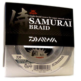 DAIWA SAMURAI BRAIDED FISHING LINE 300 YARDS GREEN