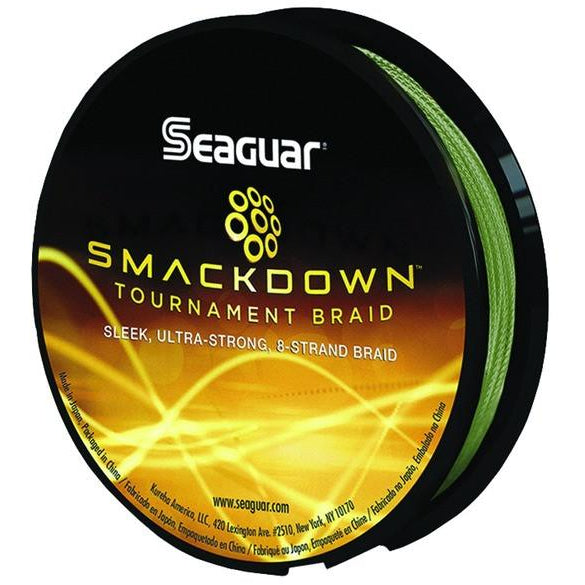 Seaguar Smackdown Braided Fishing Line Green 150 Yards