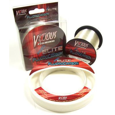 Vicious Pro Elite Fluorocarbon Fishing Line 500 Yards