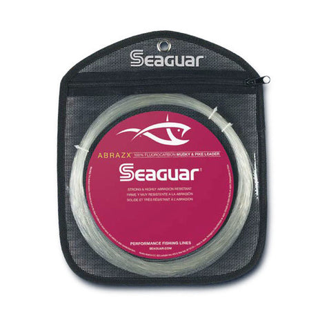 SEAGUAR ABRAZX FLUOROCARBON MUSKY/PIKE FISHING LINE 25 YARDS