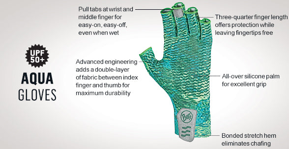 BUFF Aqua Gloves