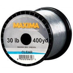 Maxima Clear Monofilament 300-600 Yard Guide Spools