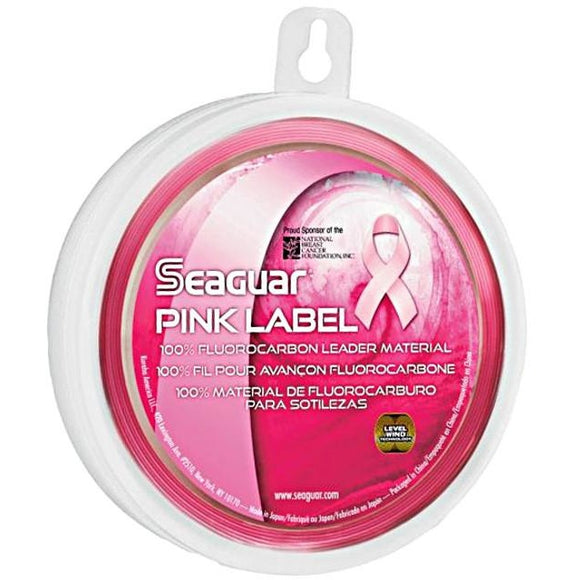 SEAGUAR PINK LABEL FLUOROCARBON FISHING LINE 25 YARDS